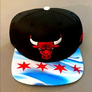 NBA Chicago Bulls Adidas Snapback Hats